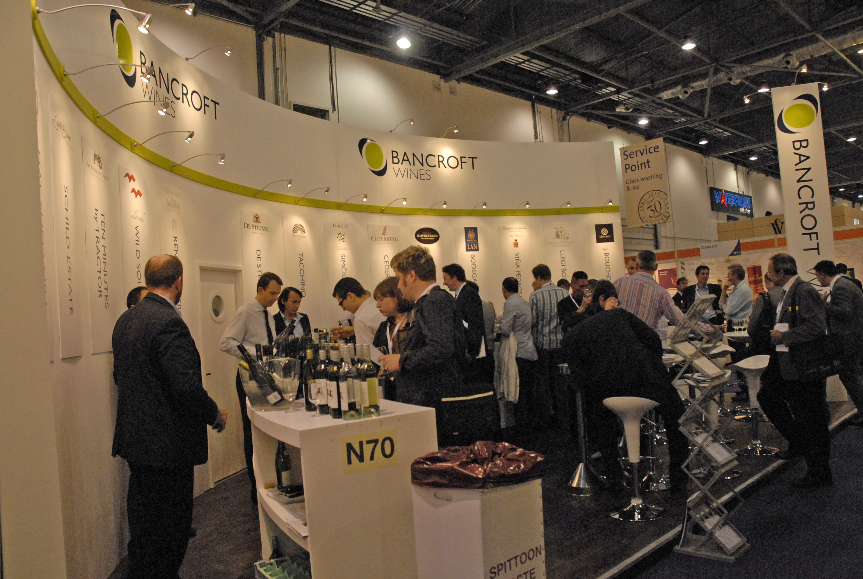 London int wine fair10 8