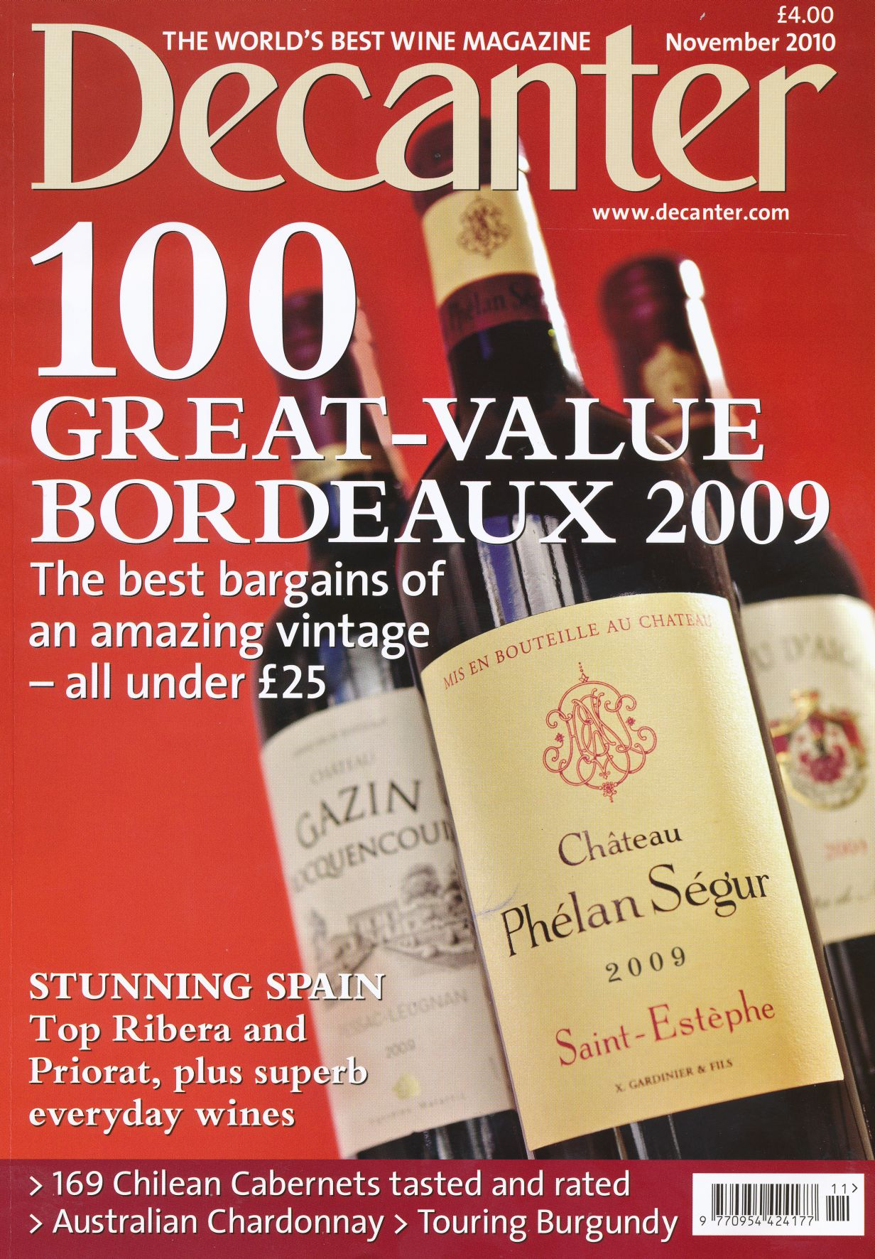 decanter buying guide 2010